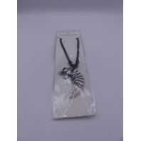 LION NECKLACE X1723 WHITE