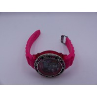 MONSTER HIGH DIGITAL PINK RUBBER WATCH MHKD16006FL