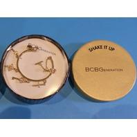BCBGENERATION GOLD CROSS AND KEY CHARM BRACELELT