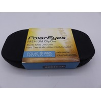 POLAR EYES CLIP ONS REC 15 GM 56 PL/GRY 100% UVA UVB W/CASE & MICROFIBER CLOTH 5
