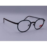 YOU'S EYEGLASSES FRAMES GREEN AND BROWN 1019/05 AMSTERDAM 140  46-21 MOD 1019
