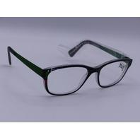 YOUPI YOUTH EYEGLASSES 46-16/100 GREEN GLASSES SIMPLE NETHERLANDS 120 MODEL Y050