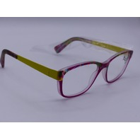 YOUPI YOUTH EYEGLASSES FRAMES 46-16/12 YELLOW GLASSES PINK W/ COLOR NETHERLANDS