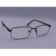 EQUINOX EYEWEAR GLASSESDARK BROWN FRAME WITHOUT CASE 60/17 -145 EQ231