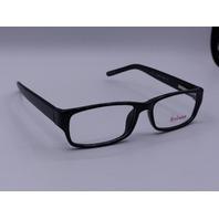 STYLEWISE EYEWEAR GLASSES BLACK FRAME NO CASE 53/16 SW223 140 EYE Q