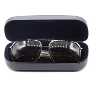 DOLCE & GABBANA DG 2165 GOLD FRAME BROWN488/73 5817 1403N