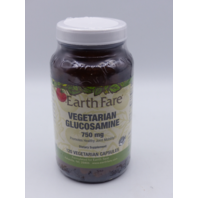 EARTH FARE VEGETARIAN GLUCOSAMINE 750MG 120 VEGETARIAN CAPSULES