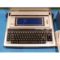 PANASONIC KX-W1000 WORD PROCESSOR W/ 8* B199 RIBBONS 1* ET 69TL TAPE