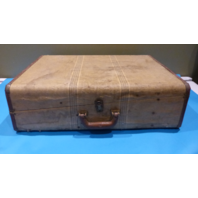 STRATOSPHERE RAPPEPORT-CHICAGO ANTIQUE VINTAGE SUITCASE LUGGAGE 29x20x9