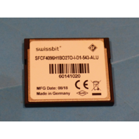 SWISSBIT SFCF4096H1BO2TO-I-D1-543-ALU 4GB COMPACT FLASH MEMORY CARD