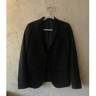 THE KOOPLES BLACK BLAZER SUIT COAT JACKET SIZE IT 44 (US 34)