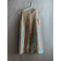 MILLY MINIS ANGULAR SHIFT DRESS PEARL SIZE 10 $165