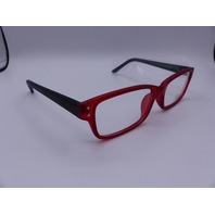SUCCESS SS-80 53/16-135 MATTE RED GLASSES