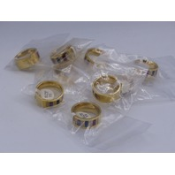 LOT OF 10* GENERIC GOLD RINGS JEWELRY SIZE 11