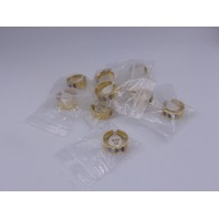 LOT OF 10* GENERIC GOLD RINGS JEWELRY SIZE 10