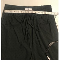 MARYSIA MONTAUK PANTS IN BLACK SWISS DOT