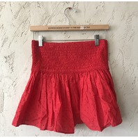 MARYSIA LAHAINA TOP/SKIRT SWISS DOT IN RED