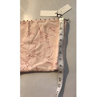 MARYSIA BIARRITZ SWIMSUIT BANDEAU LONG TUBE TOP PINK/RED FRENCH KNOTS