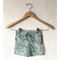 MARYSIA BUMBY BOY SWIMSUIT SHORTS SEA FOAM IN GREEN