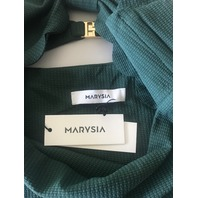 MARYSIA ONE PIECE ANTIBES MAILLOT SWIMSUIT IN DARK GREEN