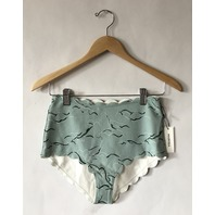MARYSIA SANTA MONICA HIGH WAISTED SWIMSUIT IN SEAFOAM GREEN