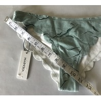 MARYSIA LOW WAISTED BROADWAY SWIMSUIT BOTTOMS IN SEAFOAM GREEN