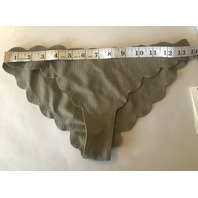 MARYSIA LOW RISE ANTIBES SWIMSUIT BOTTOMS IN TAN