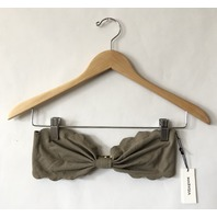 MARYSIA ANTIBES TOP STRAPLESS SWIMSUIT IN TAN