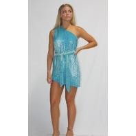 RETROFETE ELLA DRESS IN SKY BLUE SIZE S