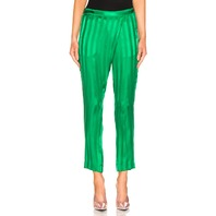 MICHELLE MASON WRAP PANT IN GREEN SIZE 0