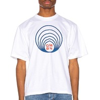 GMBH GRAPHIC TEE IN WHITE SIZE M