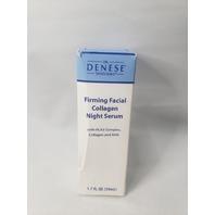 DR. DENESE FIRMING FACIAL COLLAGEN NIGHT SERUM 1.7 OZ