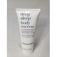 THISWORKS DEEP SLEEP BODY COCOON MULTI-TASKING BEAUTY SLEEP SAVIOR 3.3 OZ