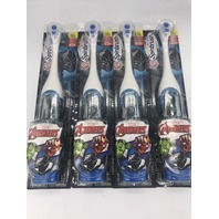 LOT OF 4 ARM & HAMMER KID'S SPINBRUSH AVENGERS ELECTRIC TOOTHBRUSH BLACK PANTHER