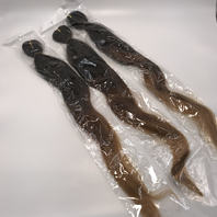 3 PIECE OMBRE WAVE THREE TONE HAIR WEAVE 28 INCH