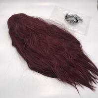 BURGUNDY 28 INCH STRAIGHT HAIR WIG