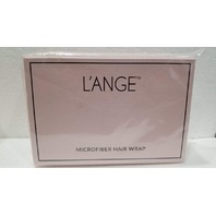 L'ANGE MICROFIBER HAIR WRAP HEAD TOWEL PINK LANGE NEW IN BOX