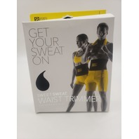 SPORTS RESEARCH WAIST TRIMMER BELT LARGE YELLOW