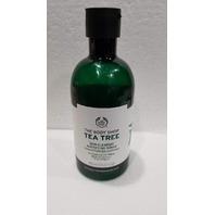 *NEW* FULL-SIZETHE BODY SHOP TEA TREE SKIN CLEARING MATTIFYING TONER 13.5 FL OZ.