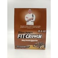 FIT CRUNCH CHOCOLATE CHIP COOKIE DOUGH 12 PACK  2.32LBS EXP 05//21