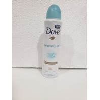 DOVE ANTIPERSPIRANT BODY SPRAY 150ML NATURAL TOUCH 3-PACK