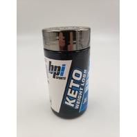 BPI SPORTS KETO WEIGHT LOSS KETOGENIC 75 CAPSULES EXP 05/22
