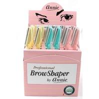 ANNIE PROFESSIONAL BROWSHAPER 36 RAZORS