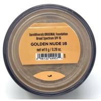 BAREMINERALS ORIGINAL FOUNDATION. SPF 15. 8 G / 0.28 OZ. - GOLDEN NUDE 16