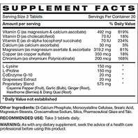 THE ULTIMATE DIABETIC CIRCULATION BOOSTER DIETARY SUPPLEMENT 90 TABLETS / 30 DAY SUPPLY EXP 8/22