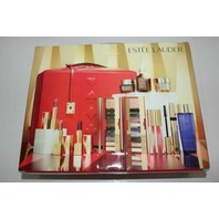 ESTEE LAUDER HOLIDAY MAKEUP KIT NUDES & GLAM COOL SET OF 12 FULL SIZE $455 NEW!