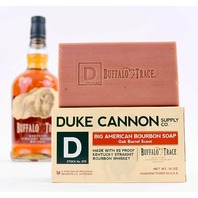 DUKE CANNON BIG AMERICAN BOURBON SOAP, 10OZ. OAK BARREL SCENT