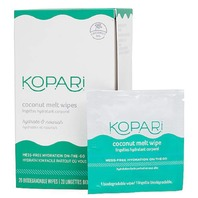 KOPARI COCONUT MELT WIPES 20 COUNT NEW