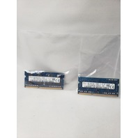 SKHYNIX 4GB 1RX8 PC3L-12800S MATCHED SET