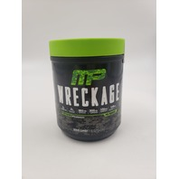 MUSCLEPHARM WRECKAGE PRE-WORKOUT ENERGY AND ENDURANCE SOUR CANDY FLAVOR 25 SERVINGS